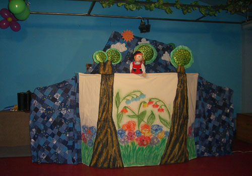 Декорации к кукольному театру своими руками