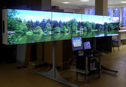 Аренда плазменных экранов и видеомониторов