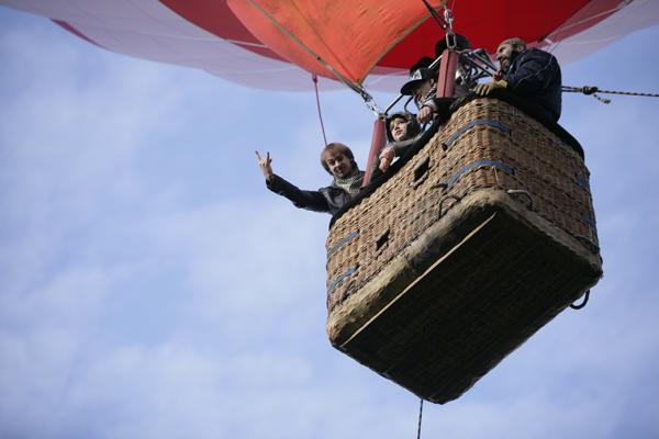 Полет на воздушном шаре