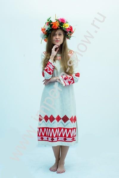 Женский Русский Весенний Костюм