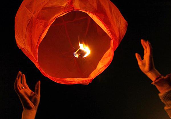 Запуск волшебных фонариков
